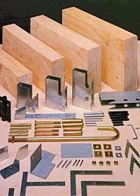 JK金物 LVL材を最大限に活かす「JK金物」 丈夫な金具と豊富な材料